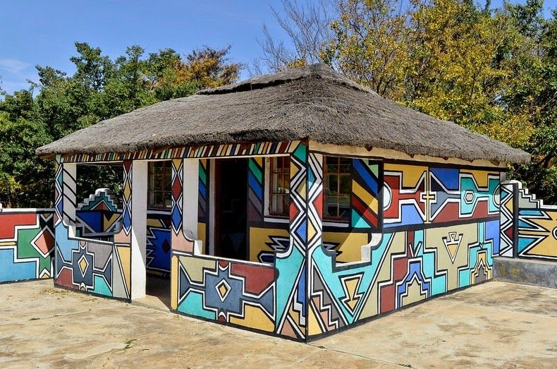 Traditional South African home